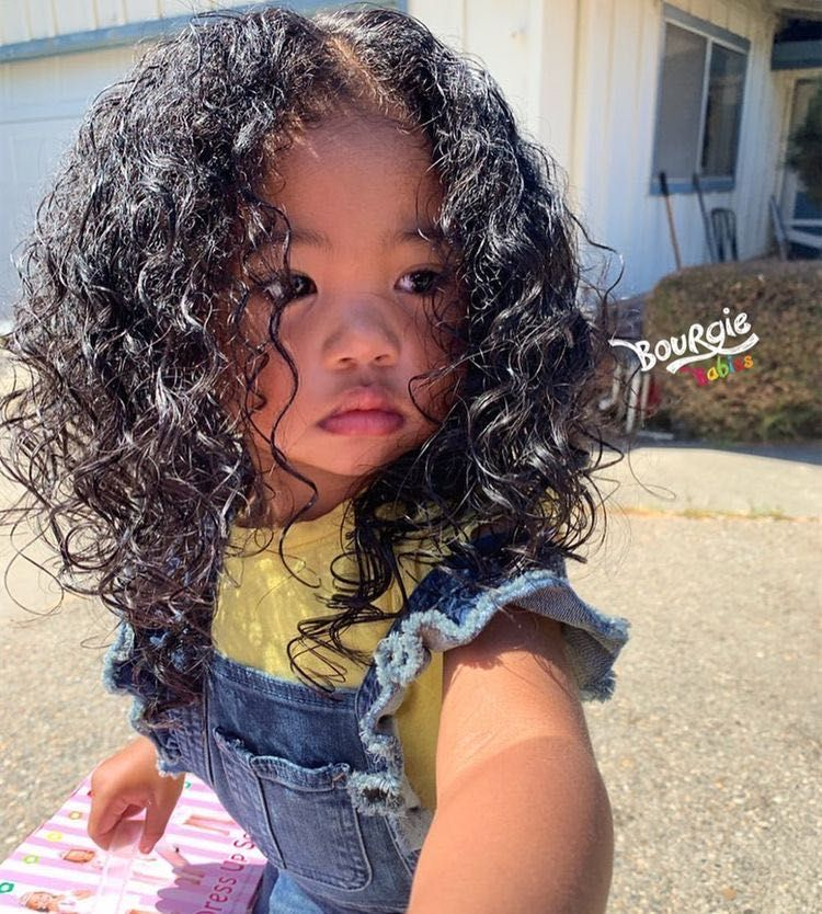 Outfits Pour Histoires Baby Girl Curly Hair Baby Baby Hairstyles Mix Baby Girl
