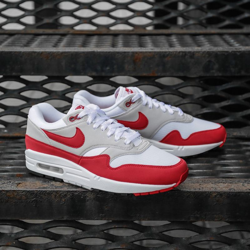 Nike Air Max 1 Anniversary (908375-103) OG Sport Red USD 135 HKD 1060 New  Arrival #solecollector #dailysole #kicksonfire #nicekicks #kicksoftoday ...