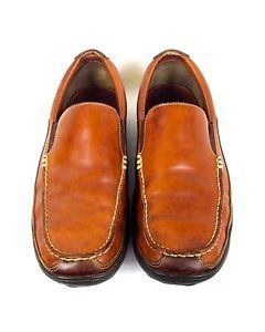Cole Haan Shoes Leather Light Brown Slip on Driving Casual Loafers Mens 10  M | eBay