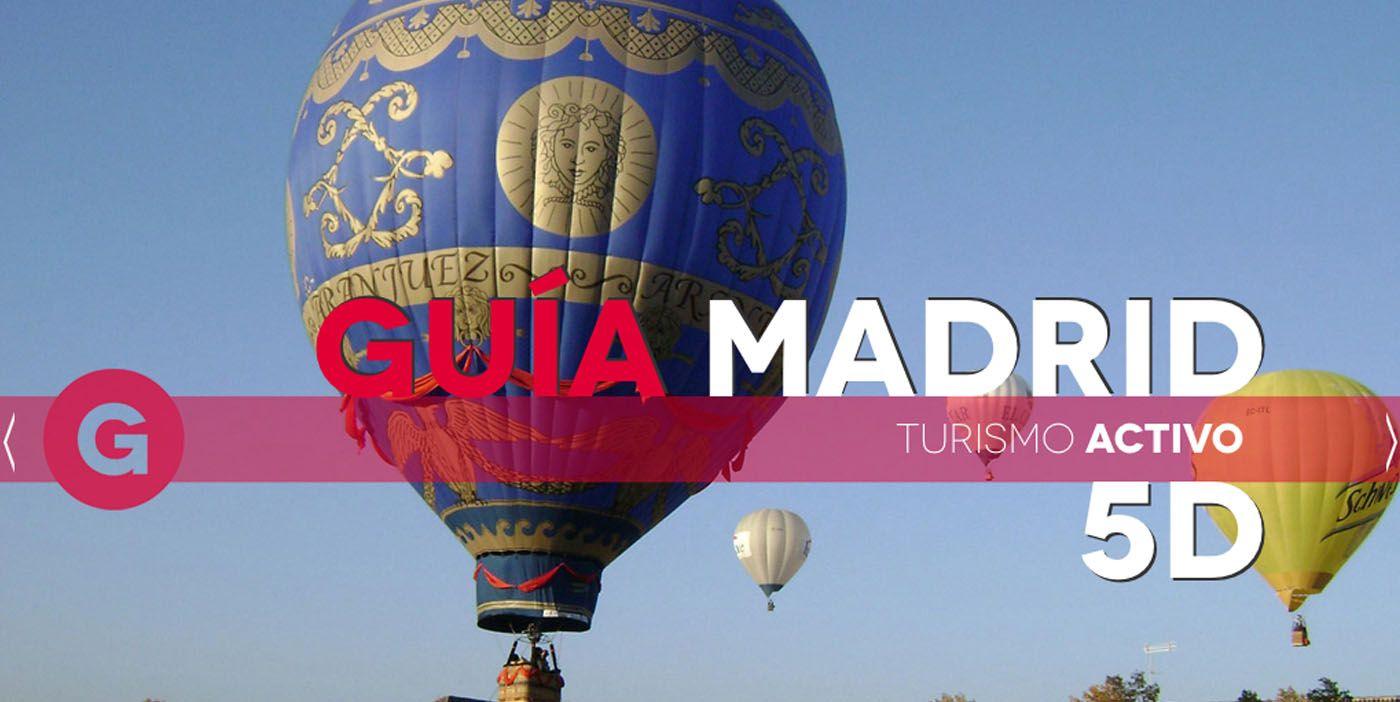 Guía Madrid 5D es una iniciativa para dinamizar el turismo de la región con la utilización de las nuevas tecnologías.