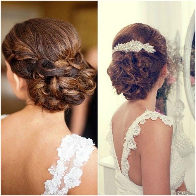 Ejemplos recogidos Peinados Pinterest Curly
