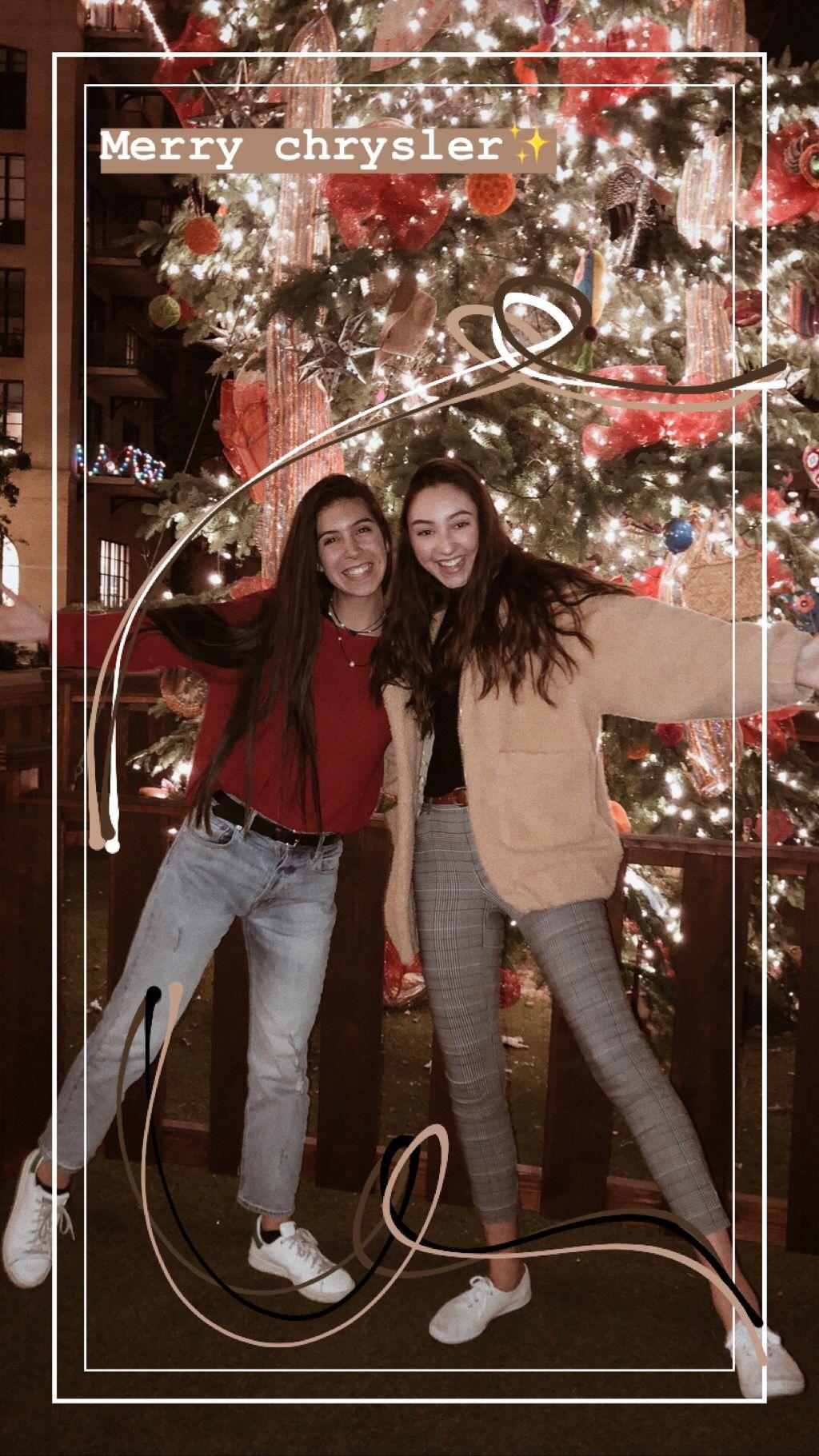 Insta Bellywellyshelley Instastory Bestfriends Christmas