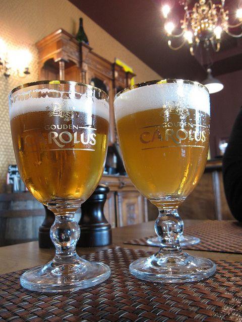 Het Anker Gouden Carolus Tripel and Hopsinjoor