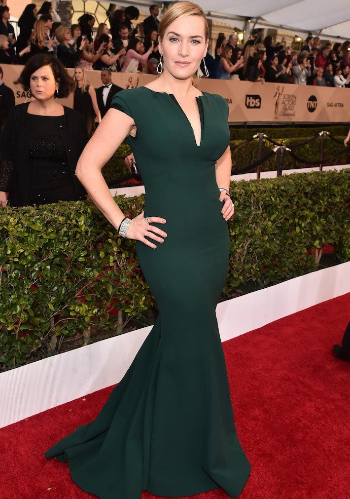 Kate Winslet Stunned In ARMANI At #SAGAwards