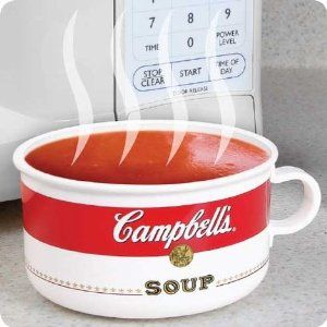 how to cook campbell soup in microwave