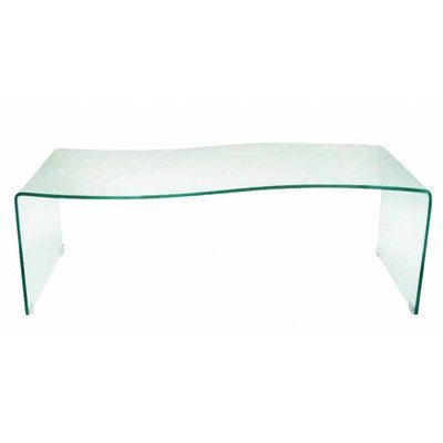 Creative Images International Coffee Table Finish: Clear