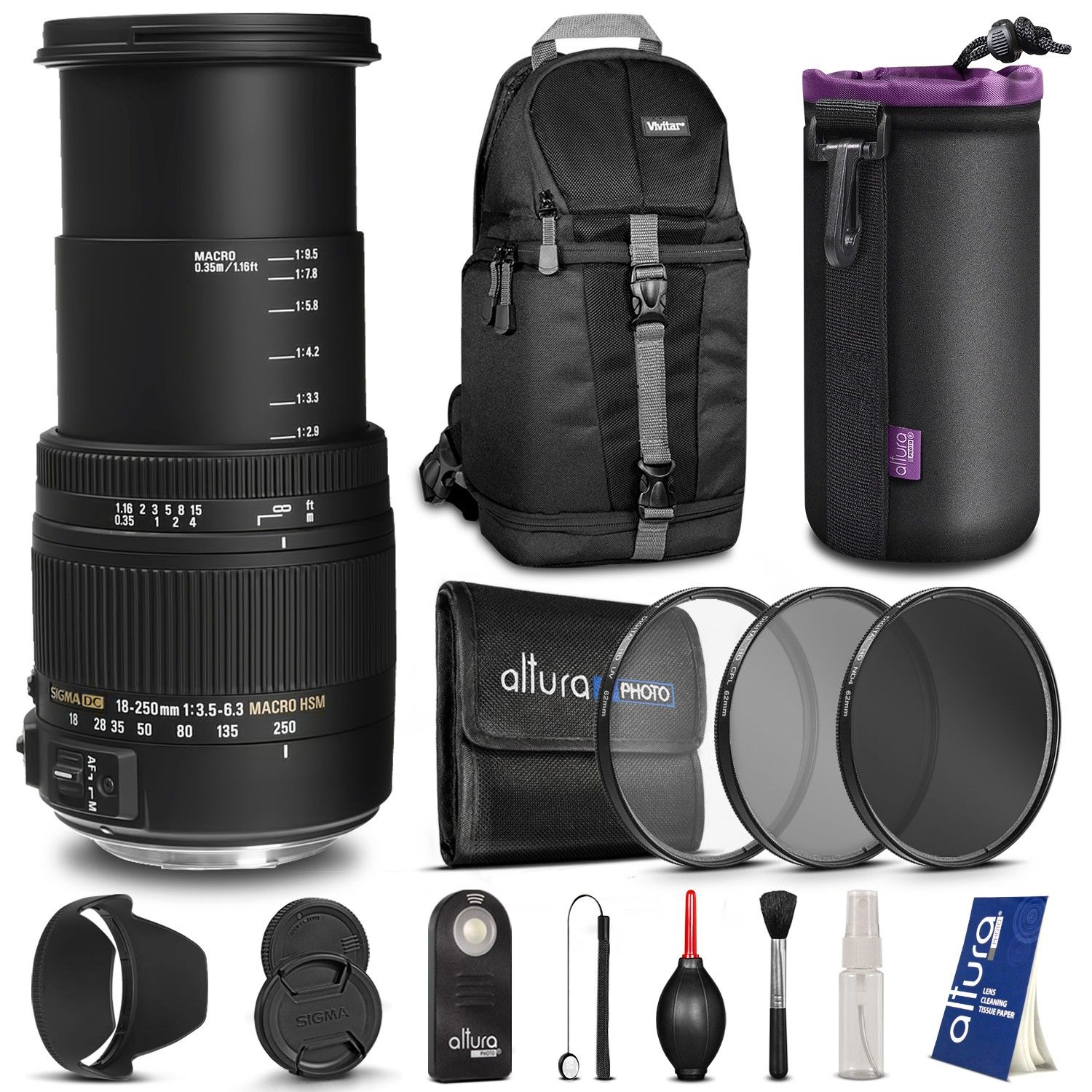 Sigma 18 250mm F 3 5 6 3 Dc Macro Os Hsm Lens For Canon Dslr Cameras With Advanced Kit The Best Black Friday Deals B Nikon Dslr Camera Nikon Dslr Dslr Camera