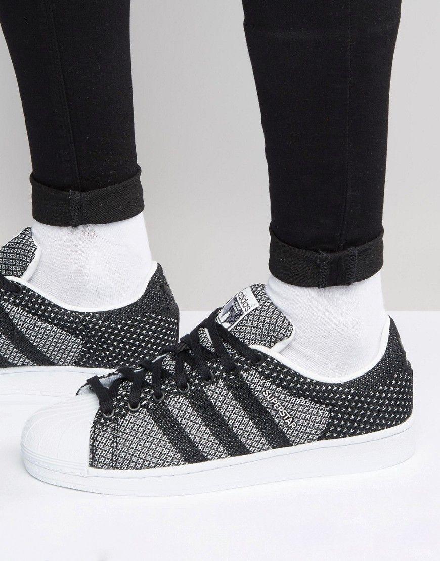 adidas Originals Superstar Weave Trainers