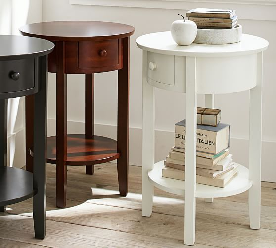 Julia Bedside Table Pottery Barn Antique Bedside Tables Home