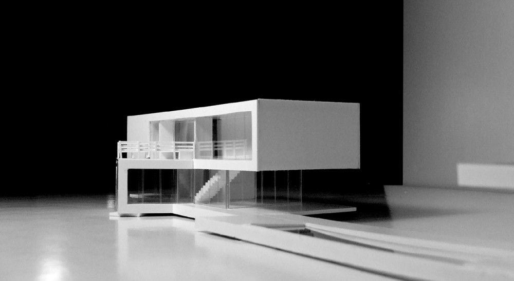 Casa yurac latif oda arquitectos arquitectura moderna for Casa minimalista maqueta