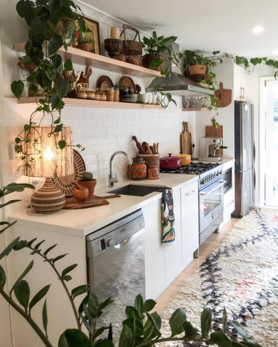 a plant a day on instagram kitchen dreaming helloplantlady image by zenbuddhamumma on boho chic interior design kitchen id=26200
