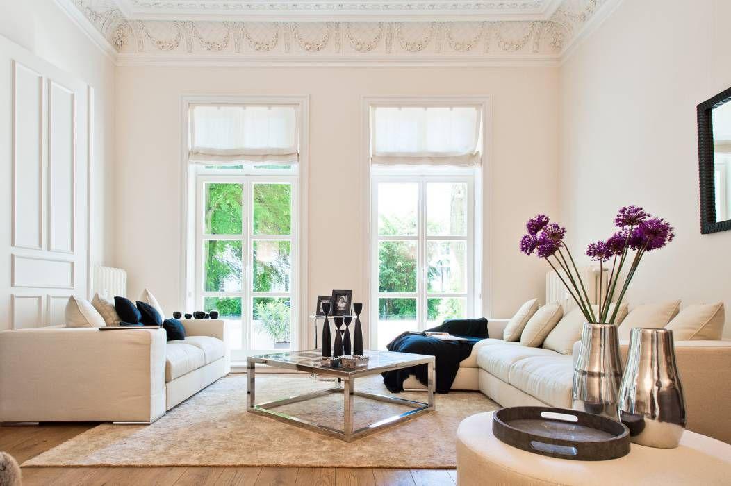 Klassische Wohnzimmer Bilder Wohnräume Innendekoration, Sofa - wohnzimmer gemutlich modern