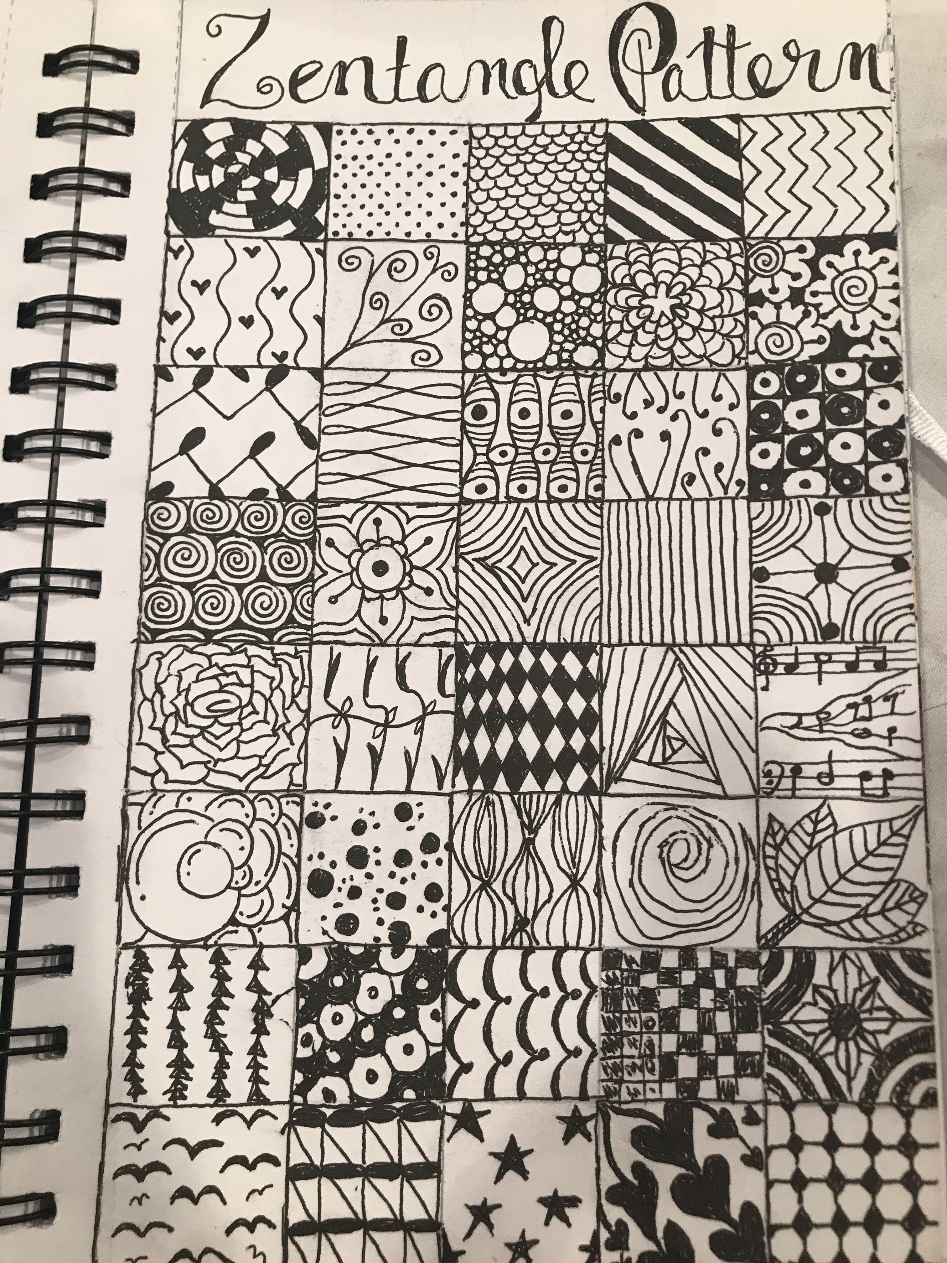 Original Zentangle Patterns Doodleart Zentangle Drawing Zentangle Patterns Zentangle Doodle Art Designs