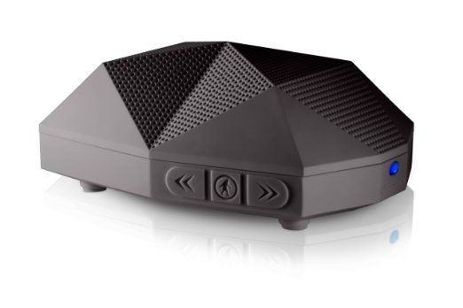 Outdoor Technology Turtle Shell 2.0 Rugged Water-Resistant Wireless Bluetooth Hi-Fi Speaker