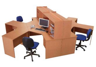 4 - 6 person workstation