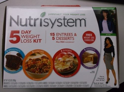 Nutrisystem Jumpstart Your Weight Loss 5 Day Weight Loss Kit - For Sale Check more at http://shipperscentral.com/wp/product/nutrisystem-jumpstart-your-weight-loss-5-day-weight-loss-kit-for-sale/