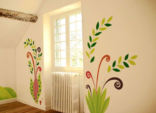 Wall Painting Decoration Interior Bedroom - Wall Decor Ideas ...