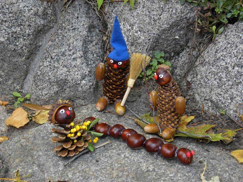 Herbst Dekoration Selbst Basteln Fall Season Autumn Decorations