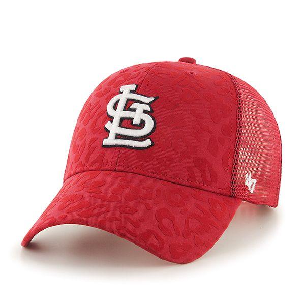 dd3e6524f7eaa St. Louis Cardinals Billie MVP Red 47 Brand Womens Hat