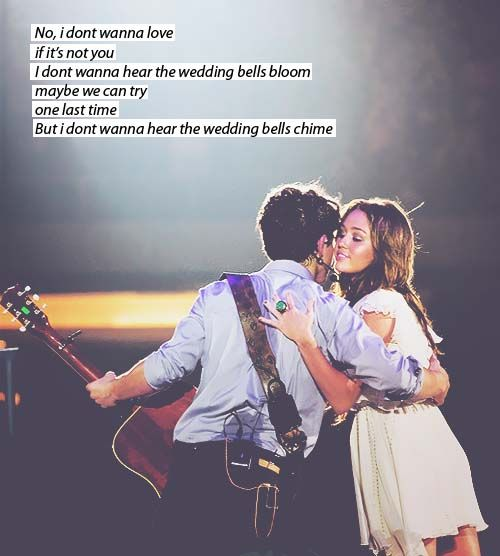 Wedding Bells The Jonas Brothers D Miley When I Was 10 Loved Nick More Than Anything Haha