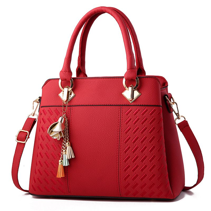 6fdfaa629b0 2019 的 Women Handbags Female PU Leather Totes Bag Top-Handle ...
