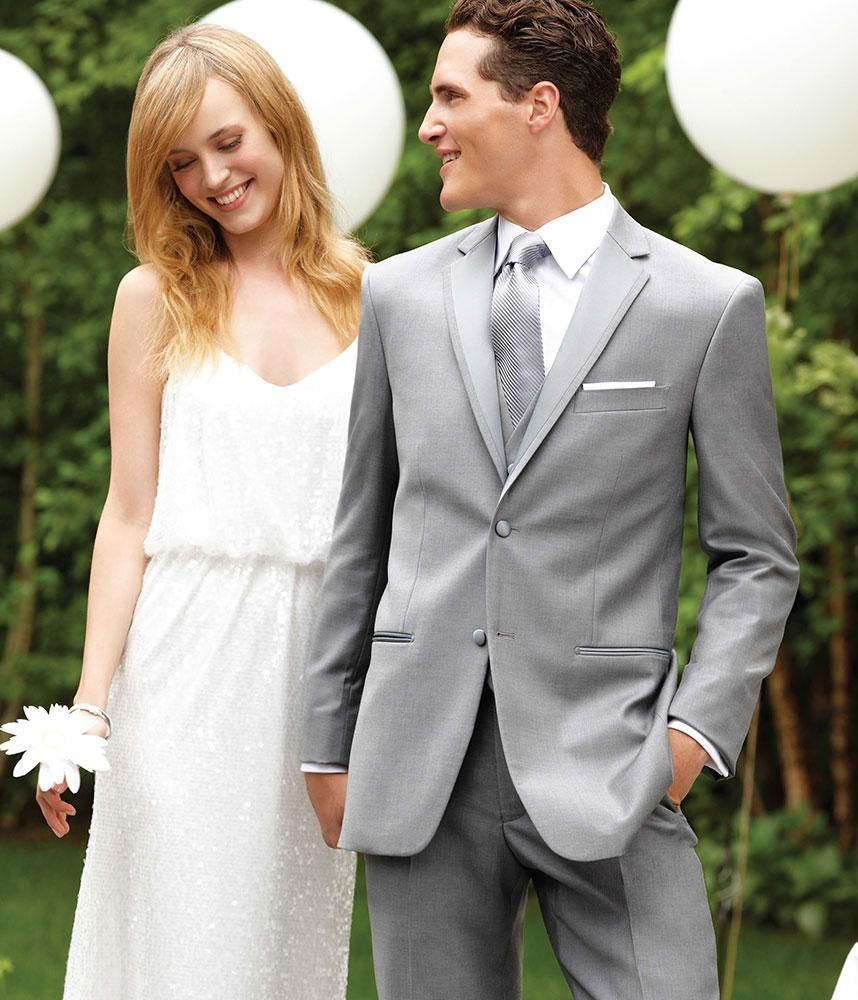 Kuvahaun tulos haulle light grey suit wedding | Prom 2018 ...