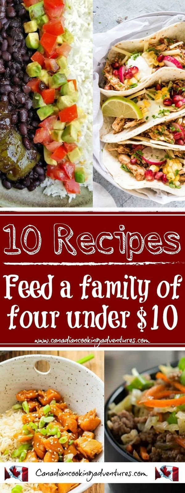 Feed a family of four for under $10 images