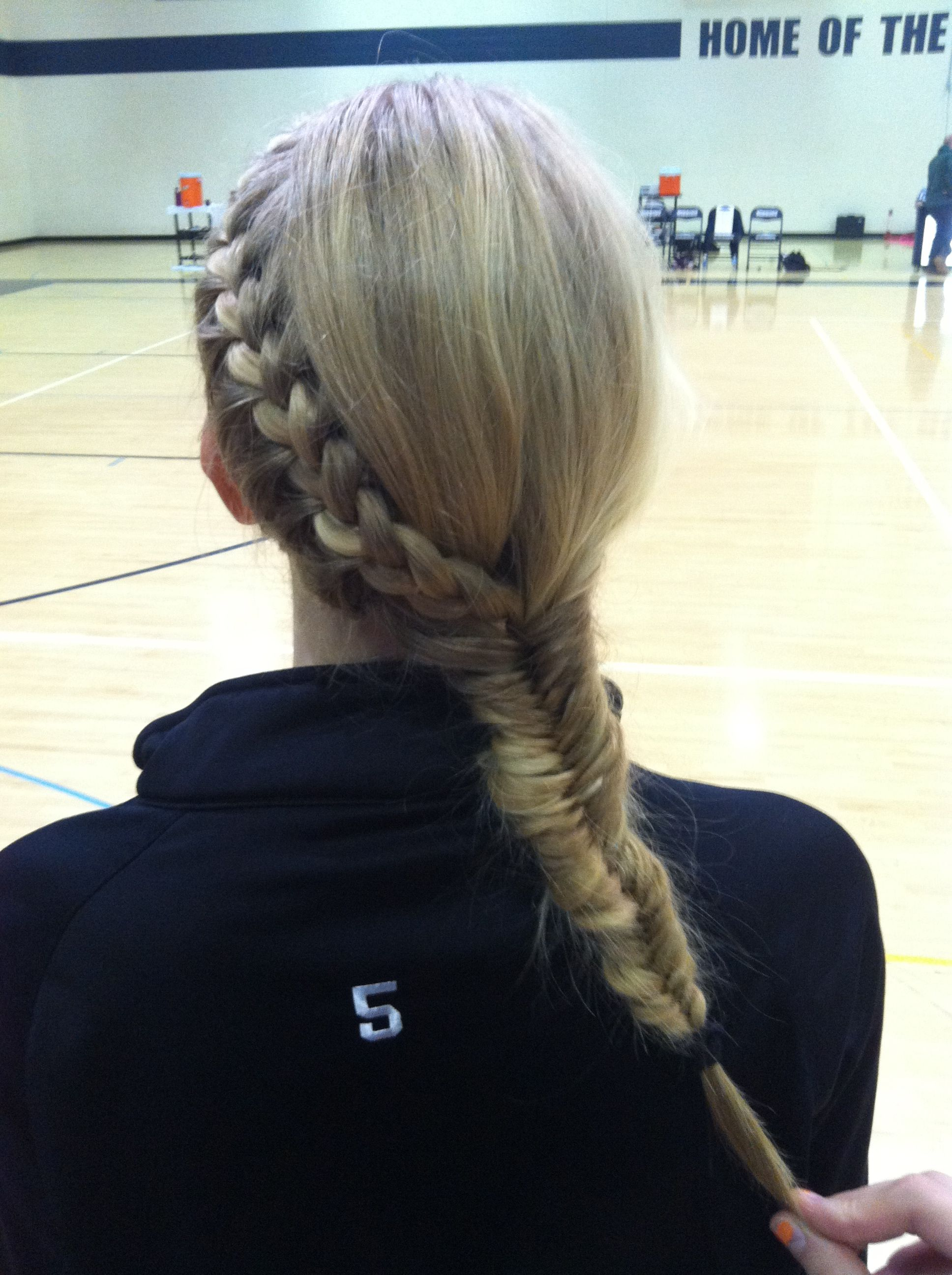 Volleyball Hairstyle Volleyball Hairstyles Gym Hairstyles Sport Hair