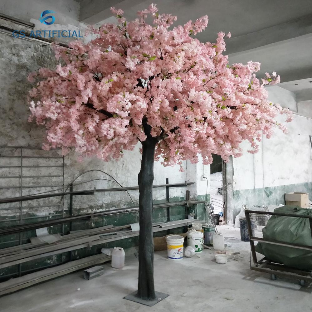Artificial Cherry Blossom Tree Wishing Tree Indoor Hotel Shopping Mall Living Room De Cherry Blossom Tree Artificial Cherry Blossom Tree Artificial Trees Decor