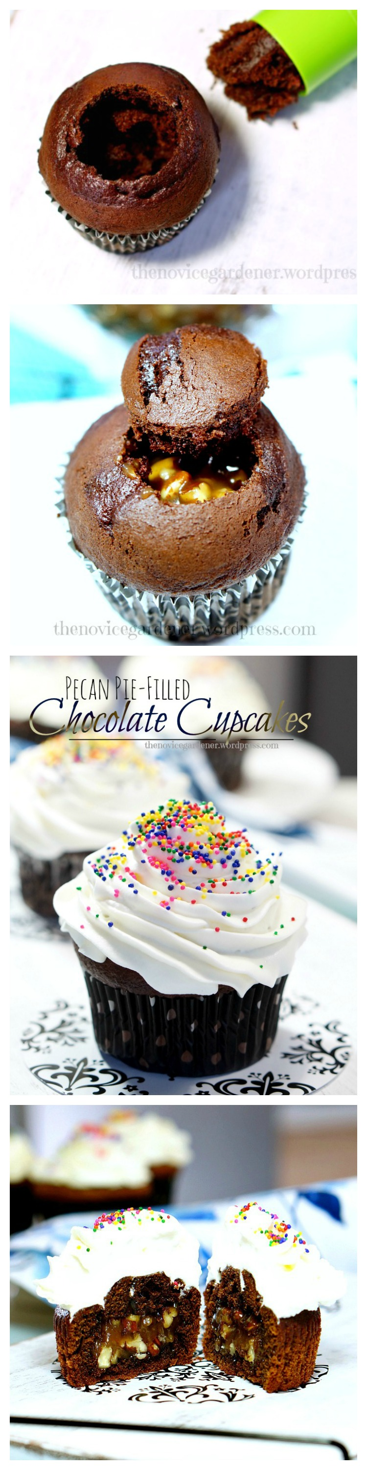 How to make filled cupcakes.