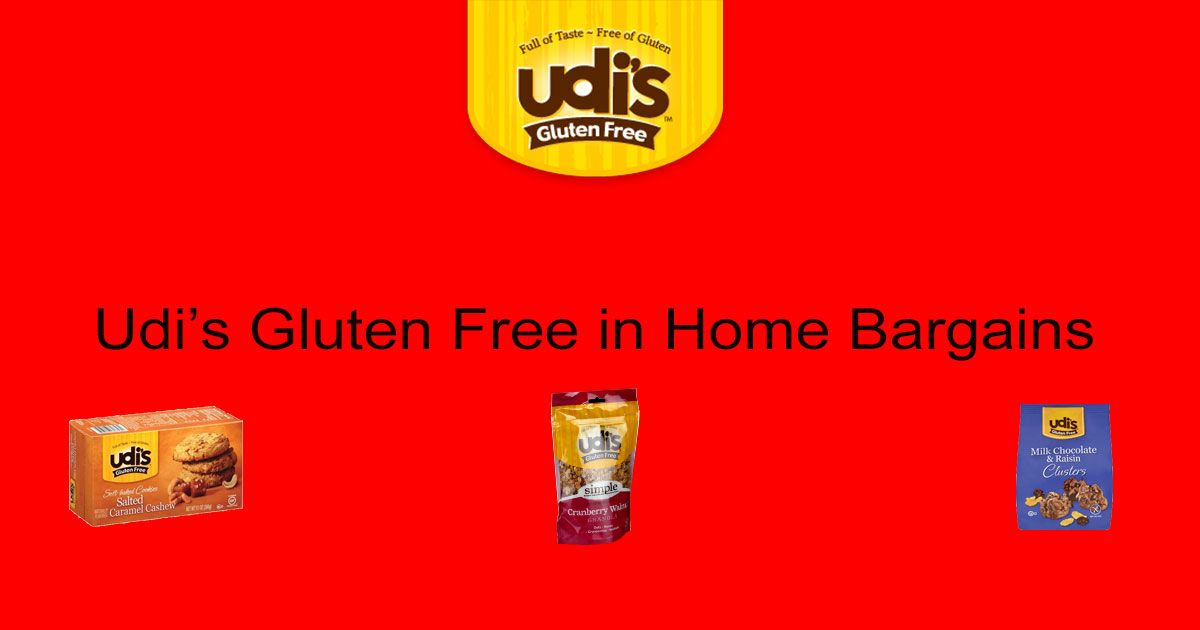 Udi S Gluten Free In Home Bargains Coeliacsanctuary Blogs
