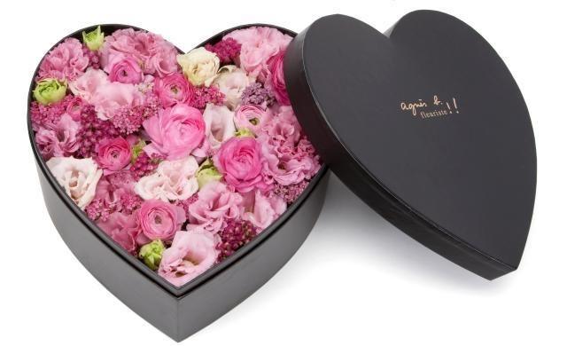 Agnes B Flowers Heart Shape Box Mothers Day Flowers Flowers