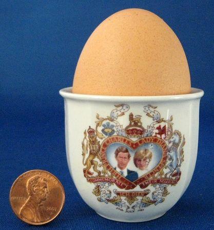 Egg Cup Princess Diana Charles Royal Wedding 1981 Cup Eggcup $18