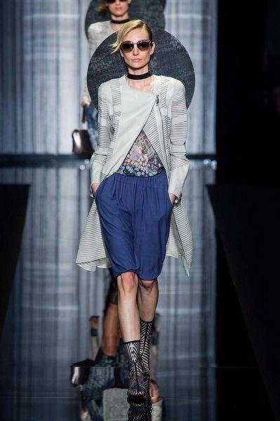 Milano Moda Haftası: Giorgio Armani - Fotoğraf 1 - InStyle Türkiye