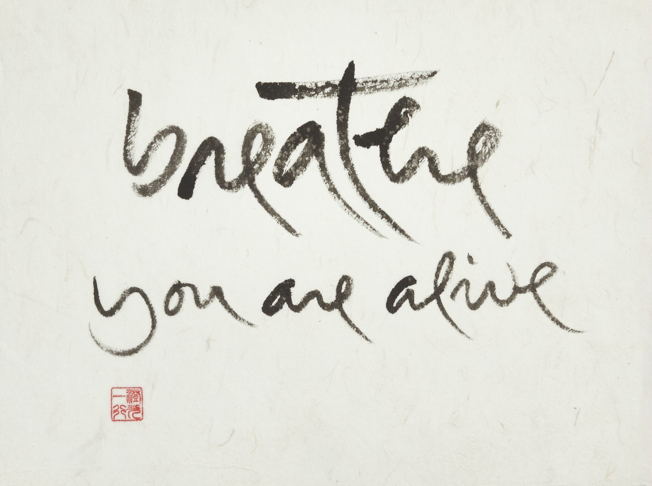 Breathe, you are alive - Thich Nhat Hanh♡*¨)¸.·´¸.·*´¨) ¸.·*