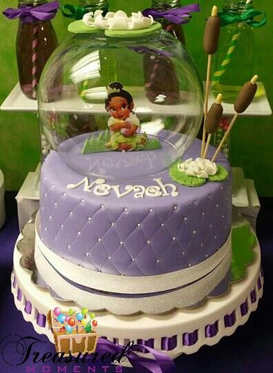 Princess Baby Tiana Cake In 2019 Frog Birthday Party