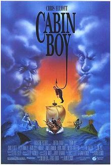 Watched: Cabin Boy.    I'm pretty sure this had the honor of being the first bad movie watched during Mac & Cheese and Bad Movie Night. Hurrah for fancy lads!