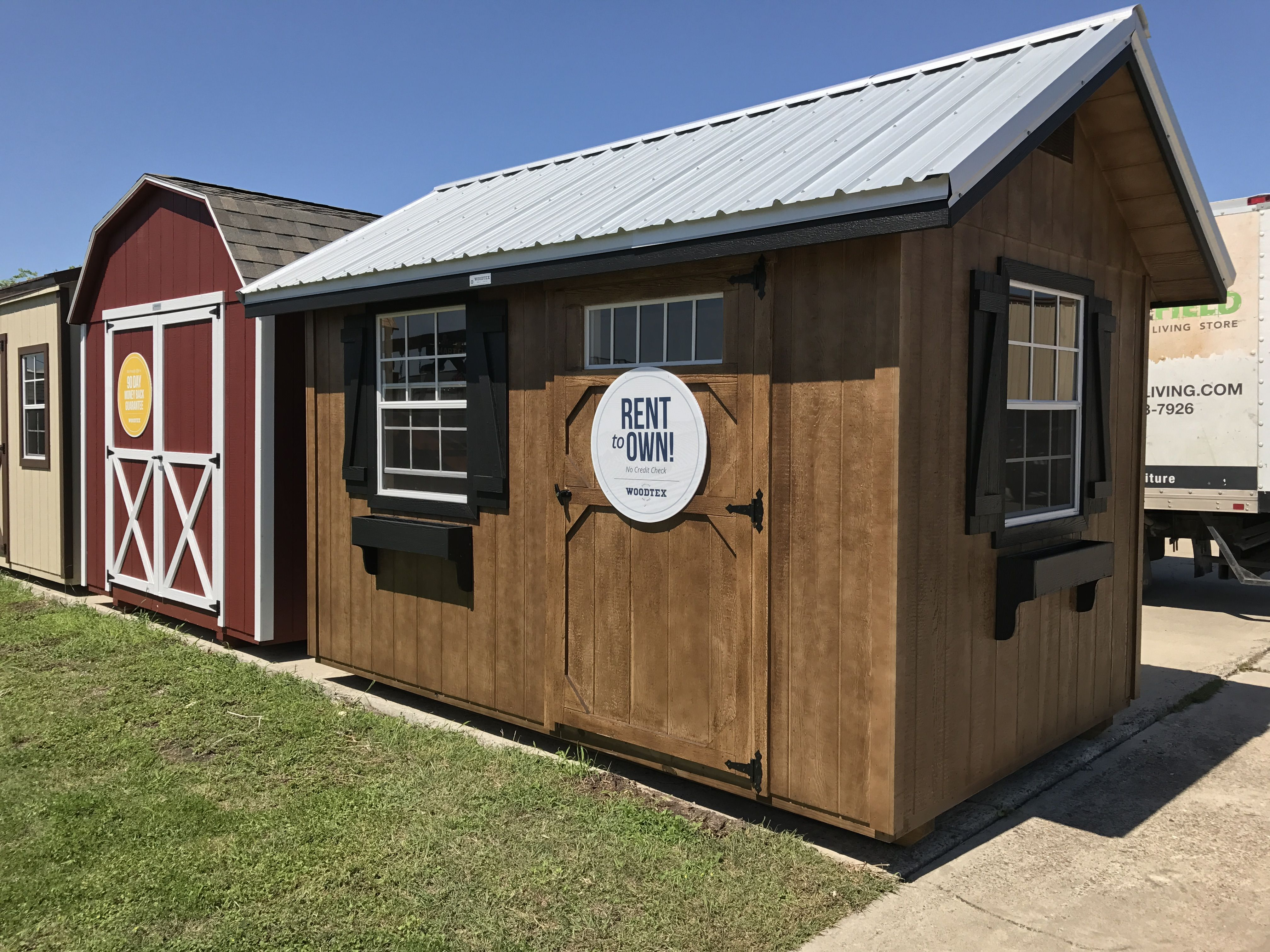 The Heritage   Prefab Garden Shed | Woodtex