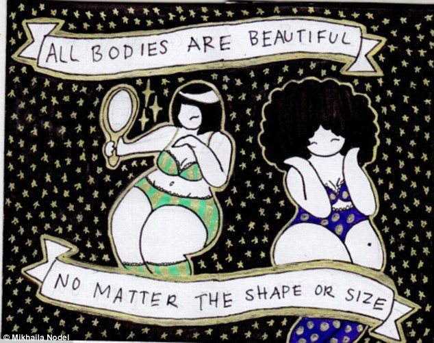 Teen Celebrates Body Confidence With Plussize Cartoon Heroes - Tumblr accounts takes cartoon characters and normalises them