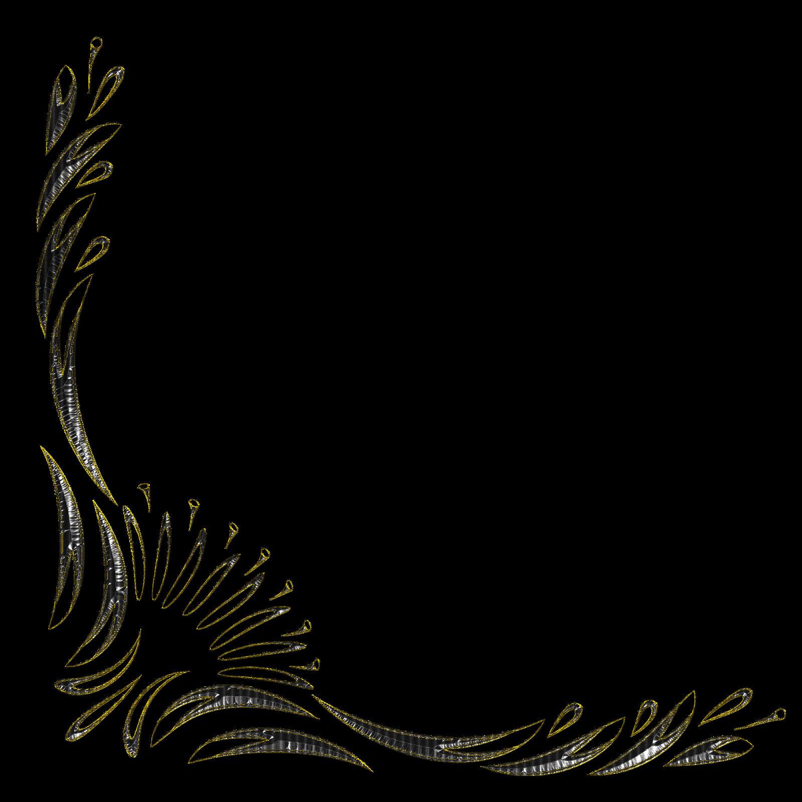 Esquineros Vectores De Flores