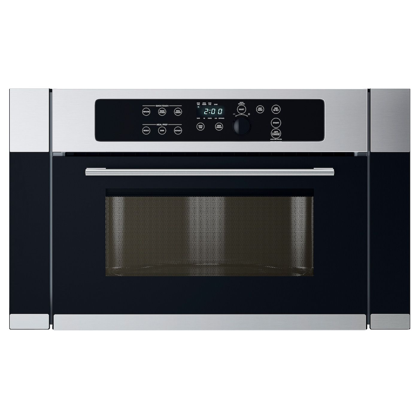 Nutid Microwave Oven Stainless Steel Ikea In 2020 Stainless Steel Oven Range Cooker Microwave Oven