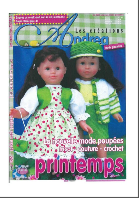 00908f2ecfc03 Comme promis voici un modèle de tricot pour poupée. Ma fille a eu à noël