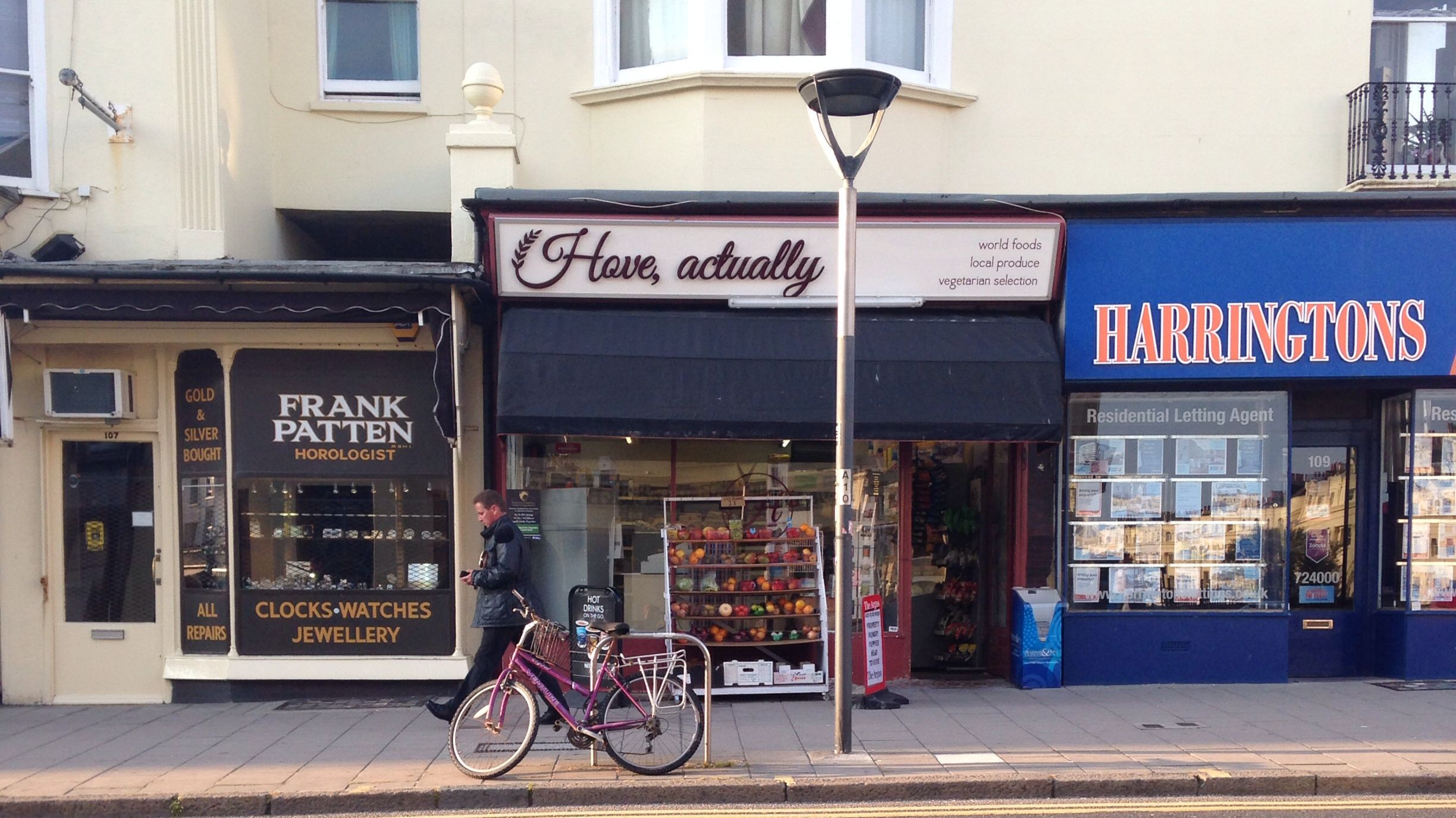 Shops in Western Road, Hove, East Sussex Frank Patten