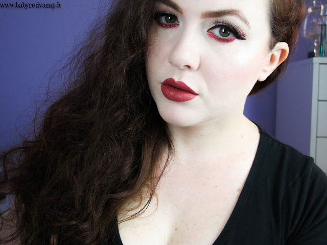 Babyredvamp Makeup: Face Of The Day - Cherry Pie (feat. Grande Amore N...