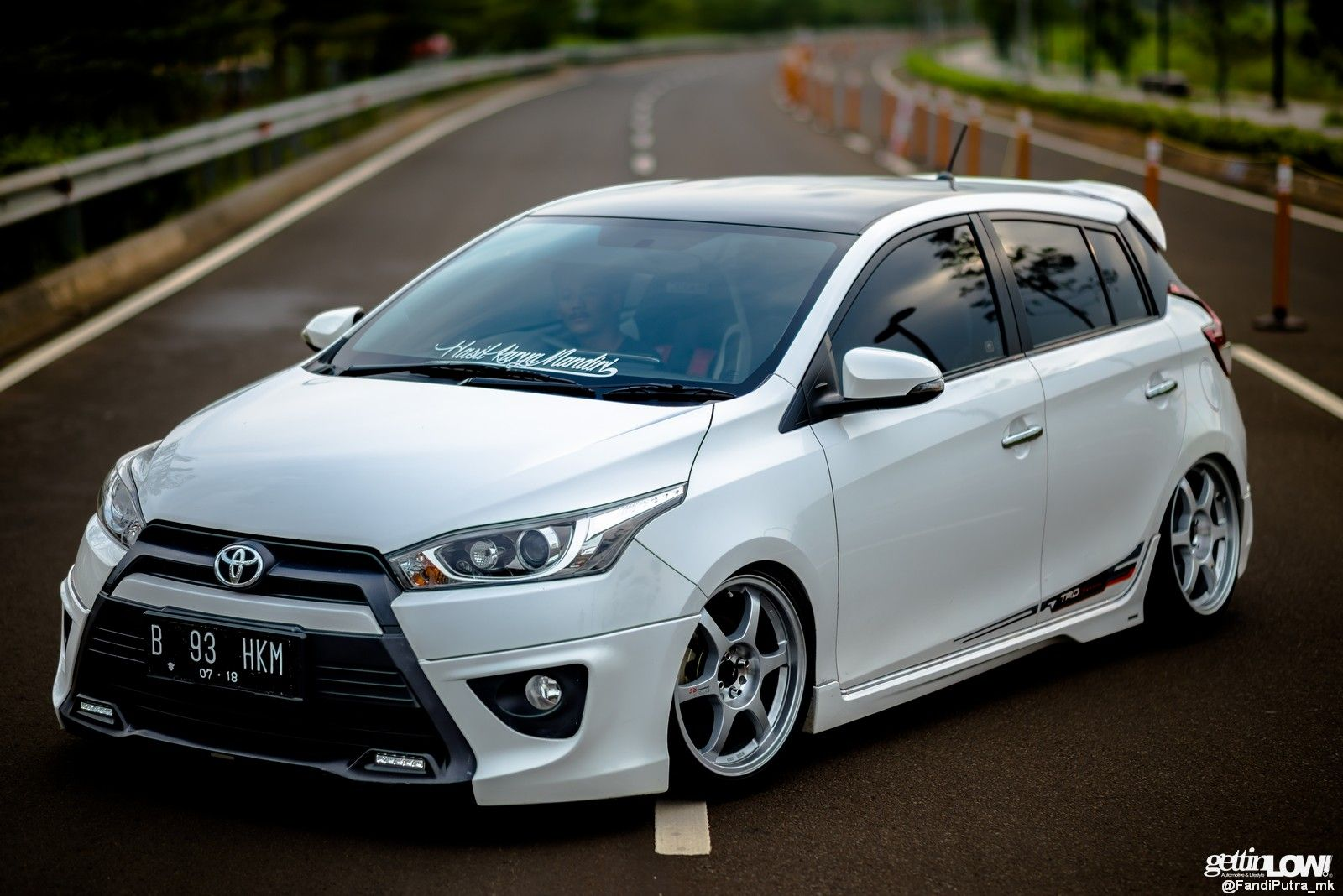Modifikasi Toyota Yaris 2014 milik Nasrul dari Pandeglang ...