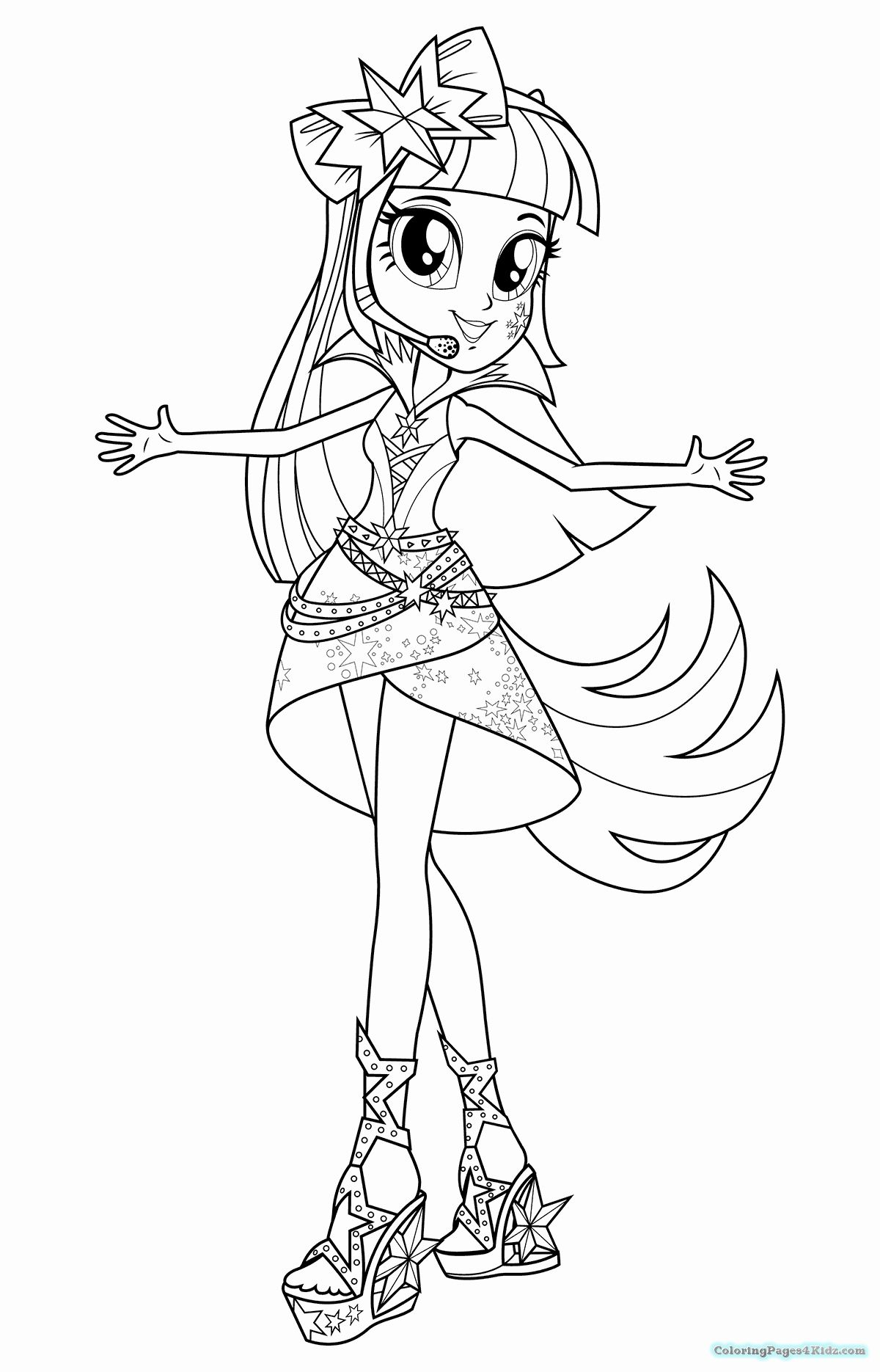 My Little Pony Equestria Girls Coloring Page Inspirational My Little Pony Equestria Gir Coloring Pages For Girls My Little Pony Coloring My Little Pony Unicorn