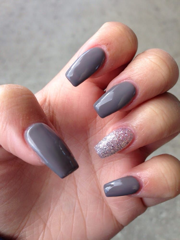 $30 without tip! (Acrylic coffin nails) - Yelp coffin ...