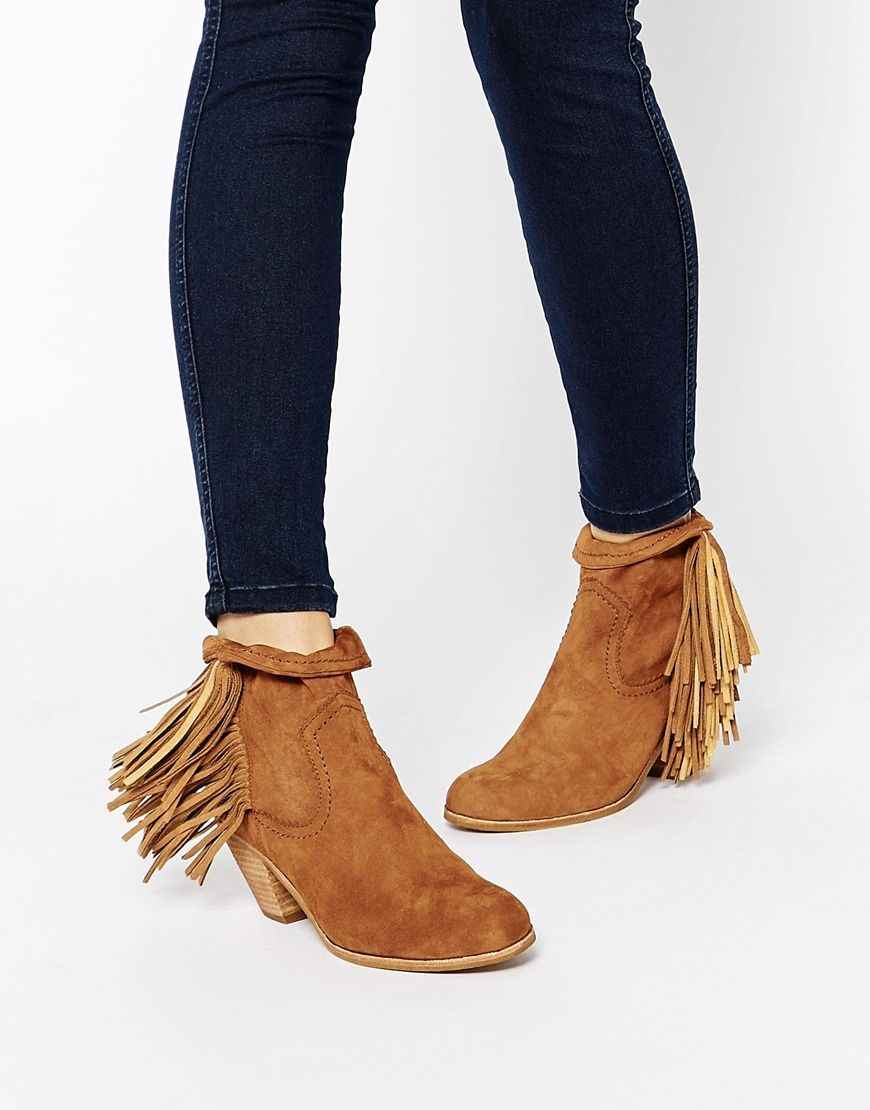 2bd39a847 Sam+Edelman+Louie+Tan+Fringed+Ankle+Boots Fringe Ankle Boots