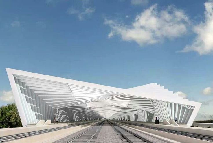 Santiago Calatrava Path Station