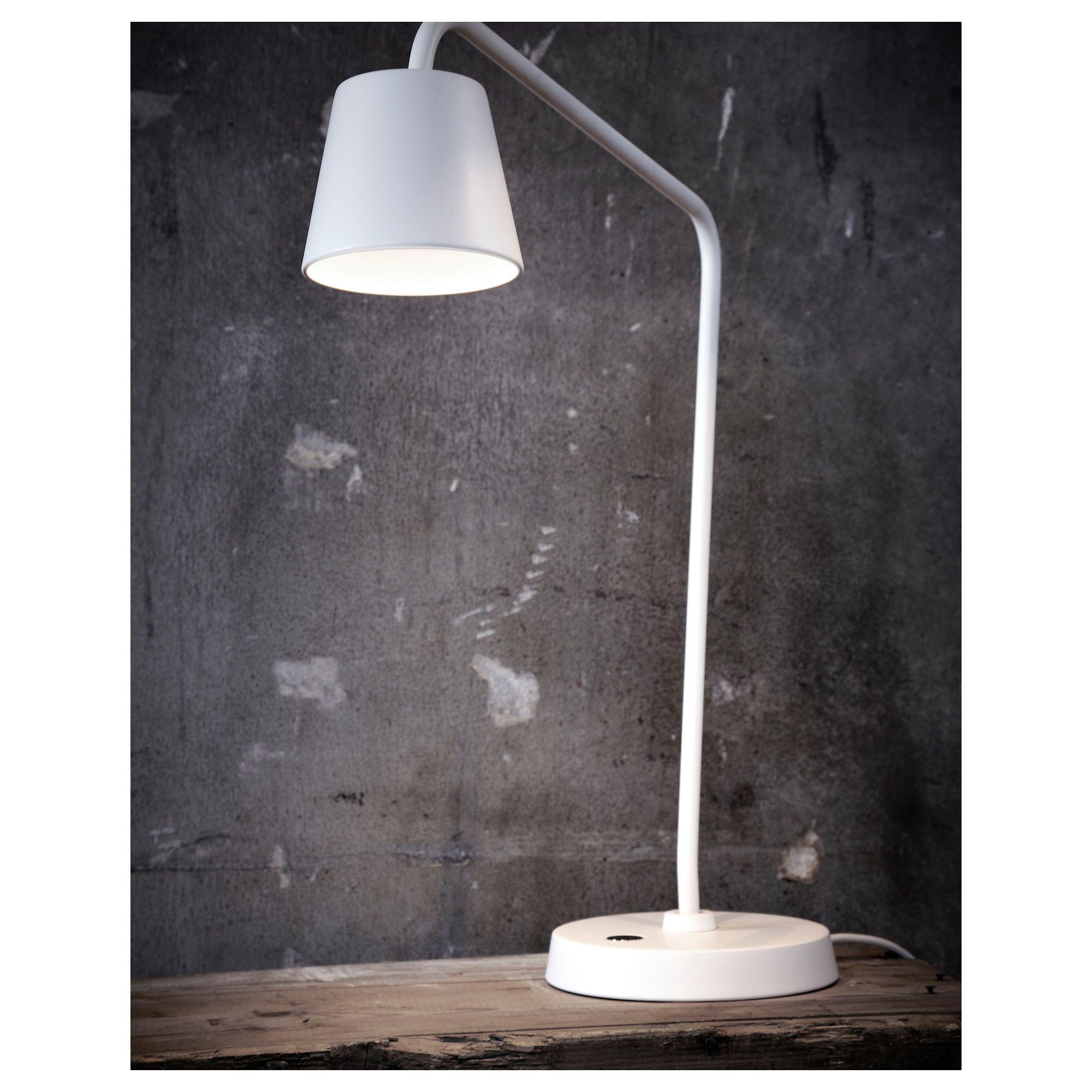 TISDAG Φωτιστικό γραφείου LED IKEA | Lamp, Work lamp, Ikea